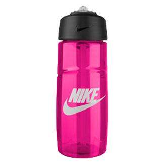NIKE T1 Flow Graphic Water Bottle Vivid Pink / White
