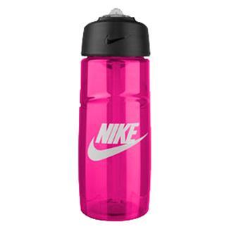 NIKE T1 Flow Graphic Water Bottle Vivid Pink / White
