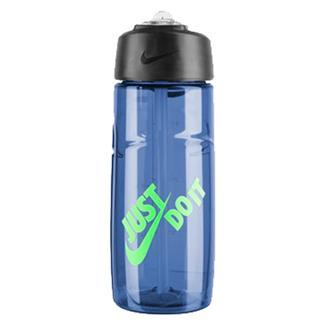 NIKE T1 Flow Just Do It Swoosh Water Bottle Game Royal / Green Strike