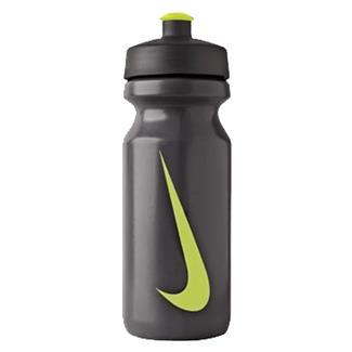 NIKE Big Mouth Water Bottle Black / Atomic Green