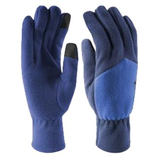 NIKE Sport Fleece Tech Gloves Deep Royal Blue / Hyper Cobalt