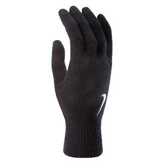 NIKE Knitted Tech Gloves Black / White