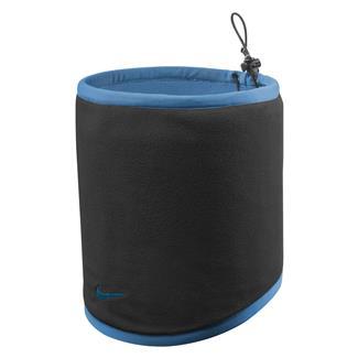 NIKE Reversible Neck Warmer Black / Blue Lagoon