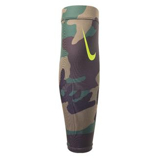 NIKE Pro Combat Amplified Forearm Shiver 3.0 (2 pack) Iguana / Black Forest / Turkish Coffee