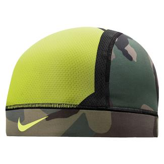 NIKE Pro Combat Hypercool Vapor Skull Cap 3.0 Iguana / Black Forest / Turkish Coffee