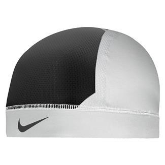 NIKE Pro Combat Hypercool Vapor Skull Cap 3.0 White / Black / Black