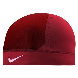 NIKE Pro Combat Hypercool Vapor Skull Cap 3.0 Univeristy Red / Team Red / White