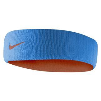 NIKE Dri-FIT Home & Away Headband Light Crystal Blue / Team Orange