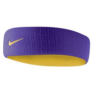 NIKE Dri-FIT Home & Away Headband Court Purple / University Gold