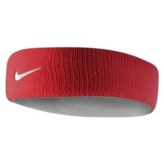NIKE Dri-FIT Home & Away Headband Varsity Red / White