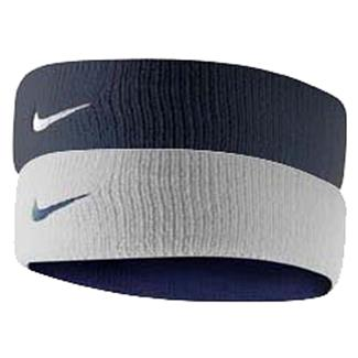 NIKE Dri-FIT Home & Away Headband Obsidian / White