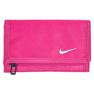 NIKE Basic Wallet Pink Foil / White