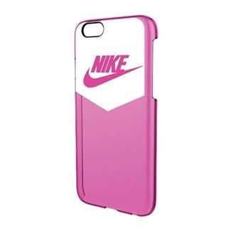 NIKE Heritage iPhone 6 Hard Case White / Pink Pow