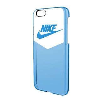 NIKE Heritage iPhone 6 Hard Case White / University Blue