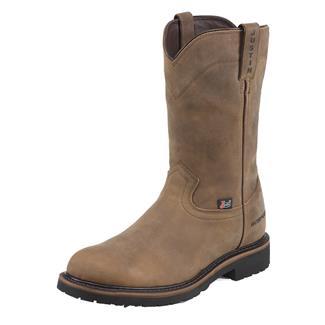 "Justin Original Work Boots 10"" Worker II Round Toe ST WP Wyoming Peanut"