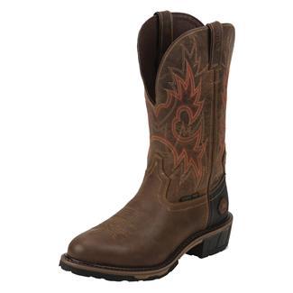"Justin Original Work Boots 13"" Hybred Classic Western Toe TecTuff ST Rugged Utah"