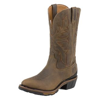 """Justin Original Work Boots 13"""" Hybred Classic Western Toe Bay Apache"""