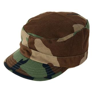Propper Poly / Cotton Twill BDU Patrol Caps Woodland