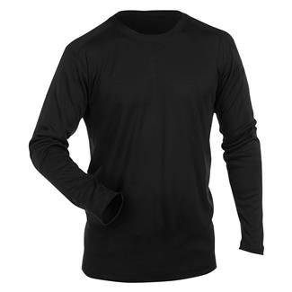 5.11 Long Sleeve Polartec Crew FR Black