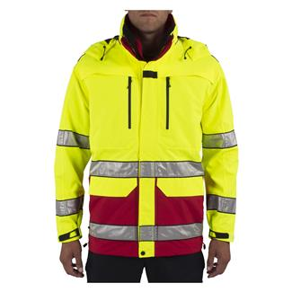 5.11 Hi-Vis First Responder Jacket Range Red
