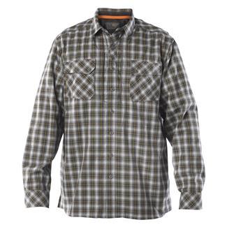 5.11 Long Sleeve Flannel Shirt Storm