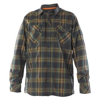 5.11 Long Sleeve Flannel Shirt Volcanic