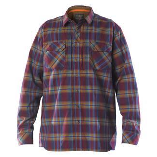 5.11 Long Sleeve Flannel Shirt Fig