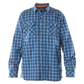 5.11 Long Sleeve Flannel Shirt Sapphire