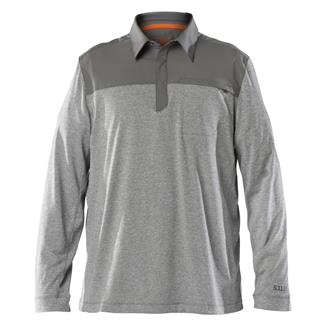 5.11 Long Sleeve Rapid Response Polo Sage Green