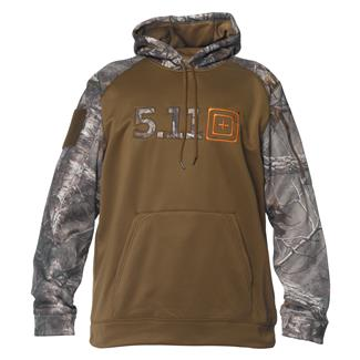 5.11 Realtree Diablo Hoodie Battle Brown
