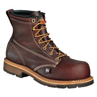 "Thorogood 6"" American Heritage Emperor Toe CT Brown Walnut"
