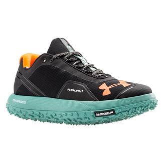 Under Armour Fat Tire Black / Blaze Orange