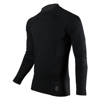 NIKE Long Sleeve Hyperwarm Special Field Fitted Mock Black