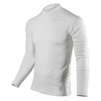 NIKE Long Sleeve Hyperwarm Special Field Fitted Mock White