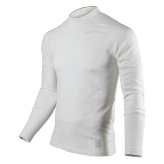 NIKE Long Sleeve Hyperwarm Special Field Fitted Mock White