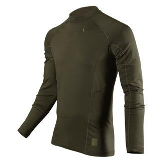 NIKE Long Sleeve Hyperwarm Special Field Fitted Mock Cargo Khaki