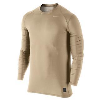 NIKE Hypercool Long Sleeve Special Field Fitted Shirt Grain