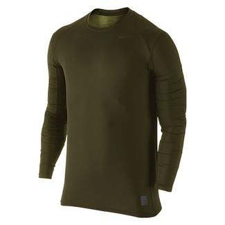NIKE Hypercool Long Sleeve Special Field Fitted Shirt Cargo Khaki