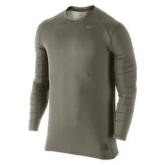 NIKE Hypercool Long Sleeve Special Field Fitted Shirt Steel Green