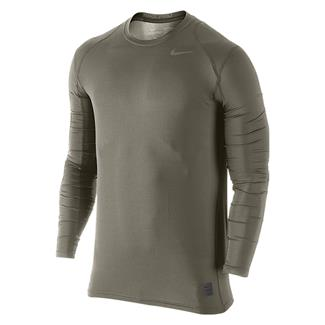 NIKE Hypercool Long Sleeve Special Field Fitted Shirt Steel Green