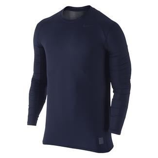 NIKE Hypercool Long Sleeve Special Field Fitted Shirt Obsidian