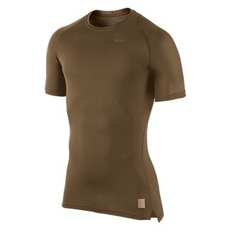 NIKE Hypercool Special Field Compression Shirt Military Brown