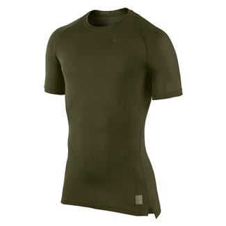 NIKE Hypercool Special Field Compression Shirt Cargo Khaki