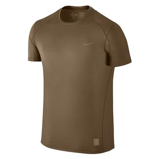 NIKE Hypercool Special Field Fitted Shirt Military Brown