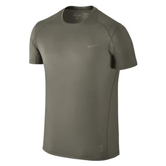 NIKE Hypercool Special Field Fitted Shirt Steel Green
