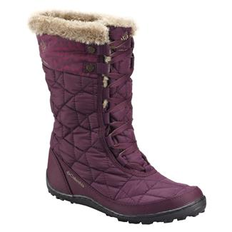 Columbia Minx Mid II 200G WP Purple Dahlia / Wet Sand