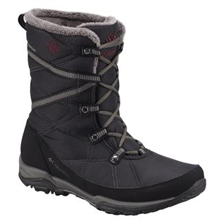 Columbia Minx Fire Tall 200G WP Black / Dark Raspberry