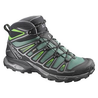 Salomon X Ultra Mid 2 GTX Bettle Green / Black / Spring Green
