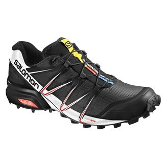 Salomon Speedcross Pro Black / White / Bright Red