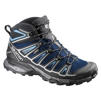 Salomon X Ultra Mid 2 GTX Gentiane / Black / Methyl Blue